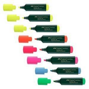 8 FABER-CASTELL 48 Textmarker farbsortiert