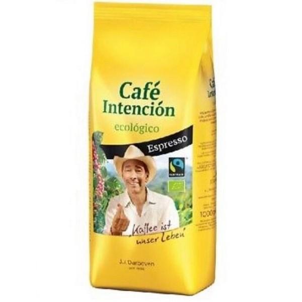 Café Intención ecológico Espresso Fairtrade ganze Bohne 1000g