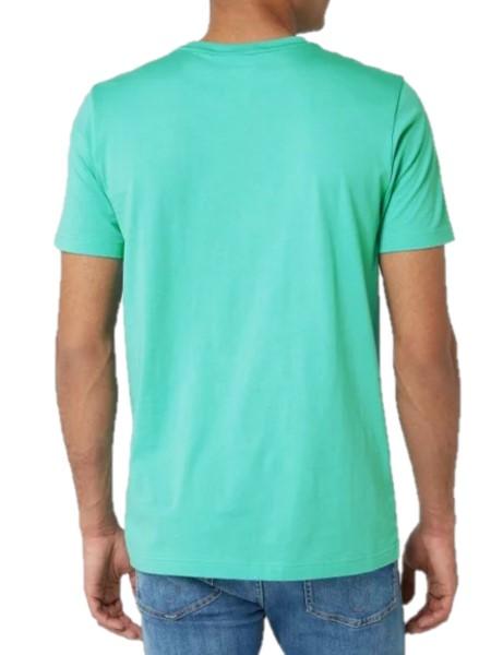 PUMA PERFORMANCE T-Shirt mit Logo-Print-Türkis. Größe M