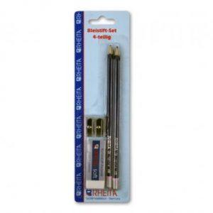 Rheita Bleistift-Set 4-teilig