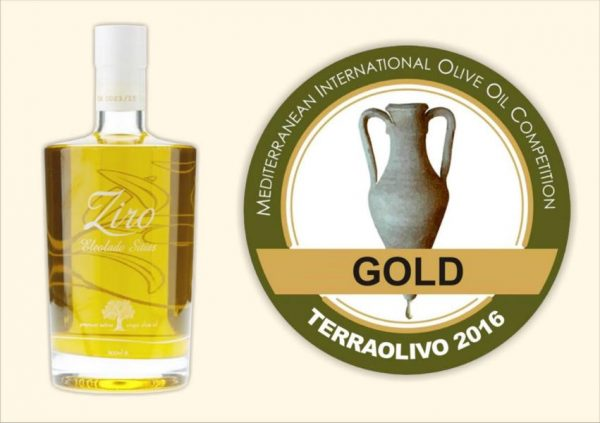 Ziro Sitia Early Harvest Extra Virgin Olivenöl 500ml