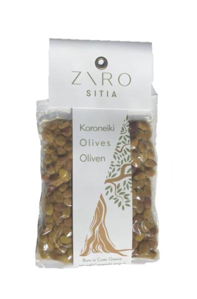 Cocktail Oliven - mini mit Kern Koroneiki 250gr