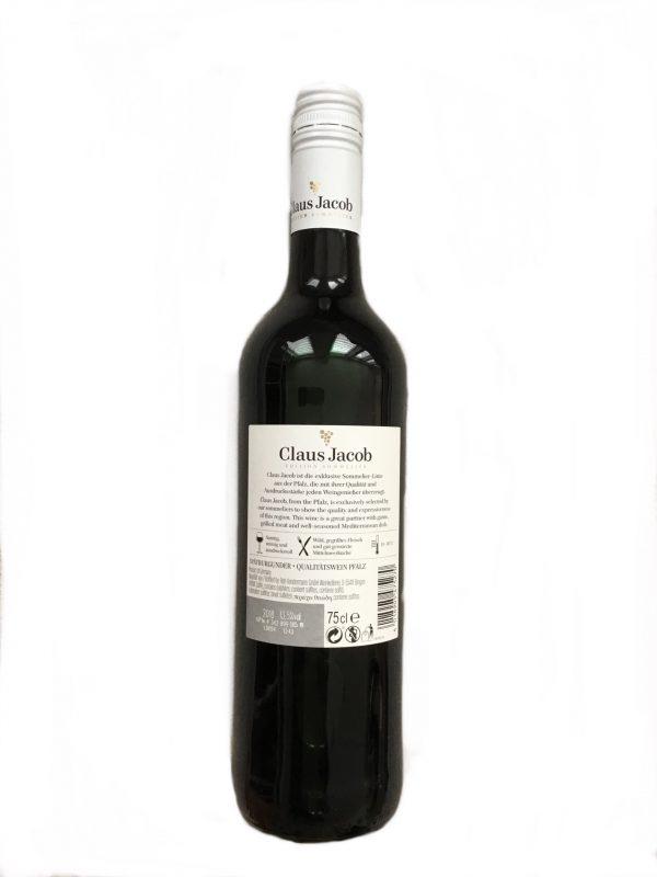 Claus Jacob Spätburgunder Qualitätswein 13,5% Vol trocken, 75cl